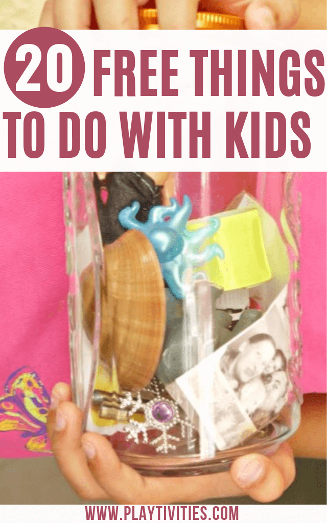 Free Things To Do With Kids 20 Spontaneous Ideas Playtivities