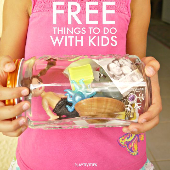 free things to do with kids weekends