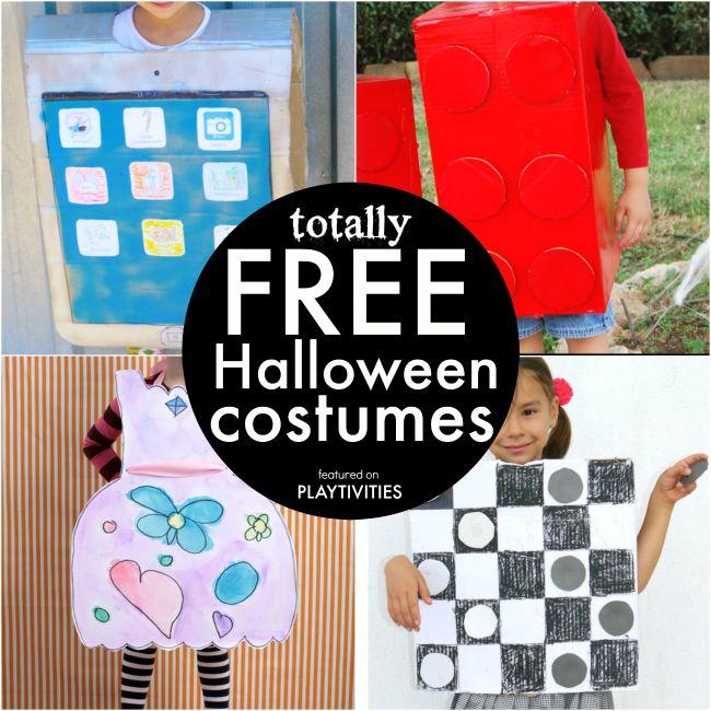 free Halloween costumes  sc 1 st  Playtivities & Coolest Cardboard Halloween Costumes For Kids - PLAYTIVITIES