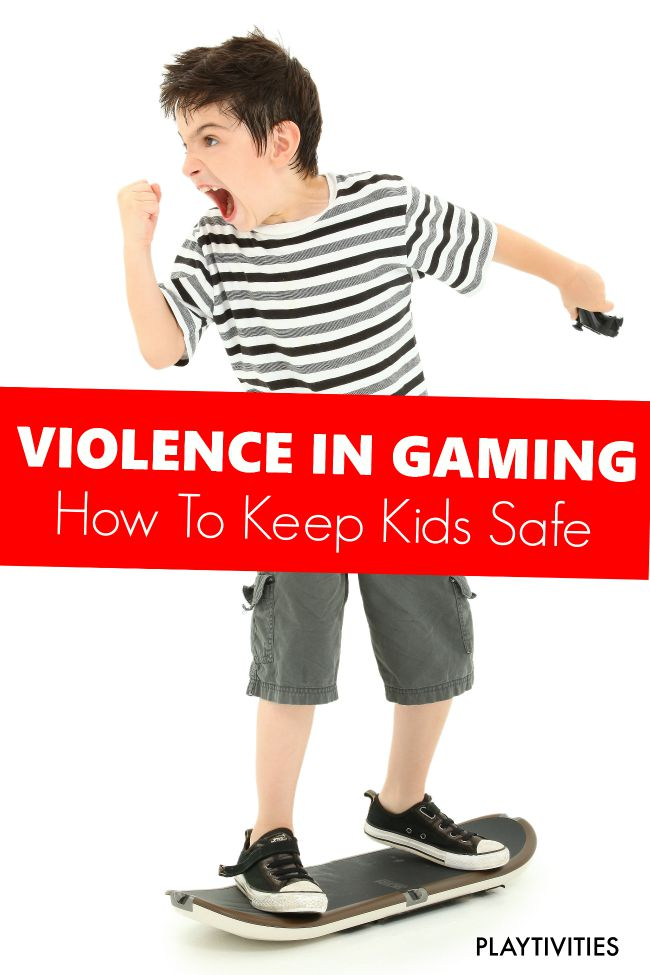 Violence in Gaming. How To Keep Kids Safe