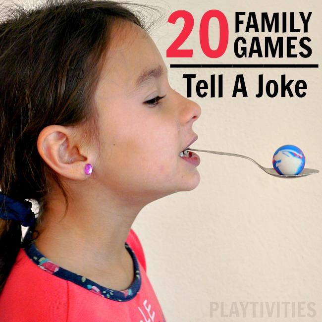 family game night - tell a joke
