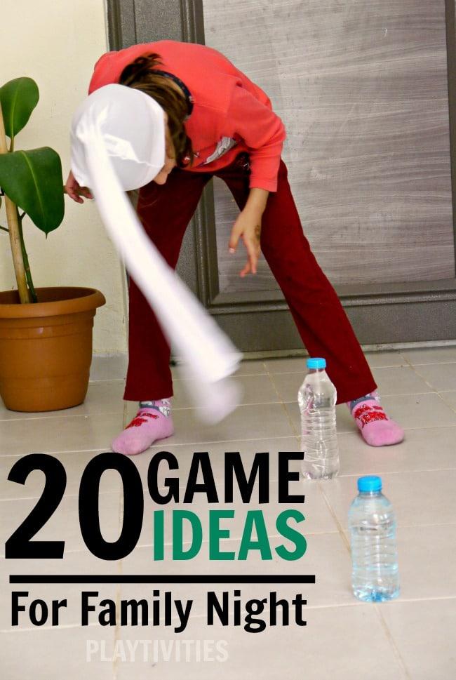 family night game ideas