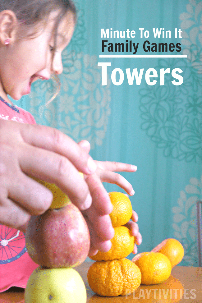 build a tower family game