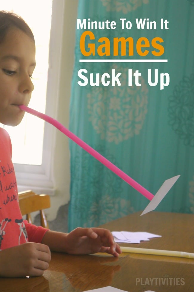 suck it up family game
