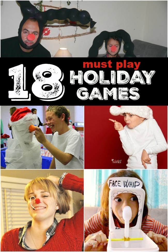christmas games to play