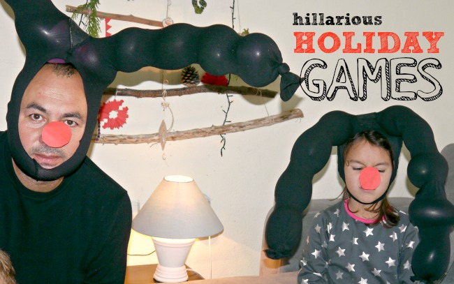 hillarious holiday games