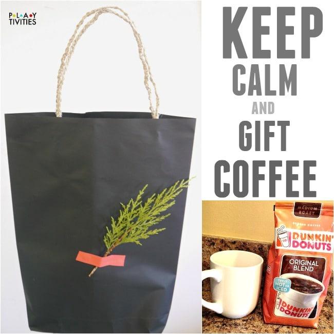 keep calm coffee gift
