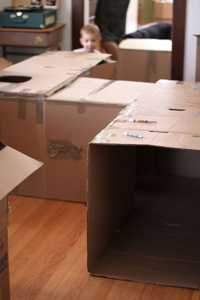 20 Genius Ideas To Play With Cardboard Boxes Playtivities