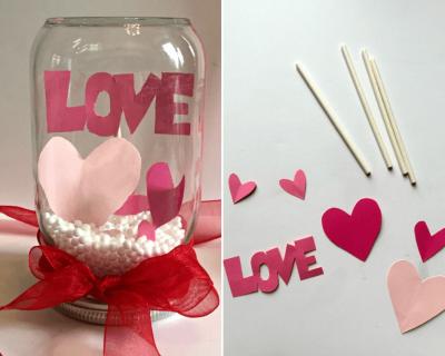 Homemade Valentines gift