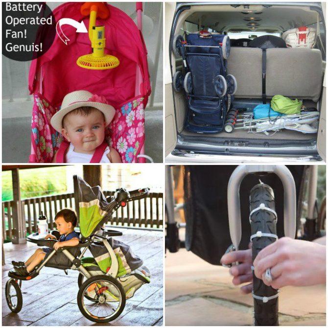 stroller-hacks-square-collage