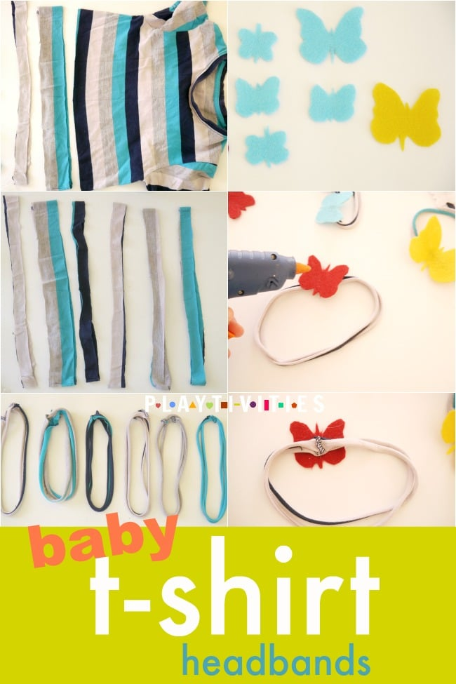 baby tshirt headbands