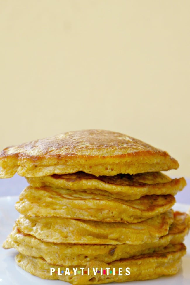Surprisingly Yummy Carrot Pancakes