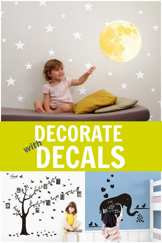 Decorate Your Child's Room With Wall Stickers
