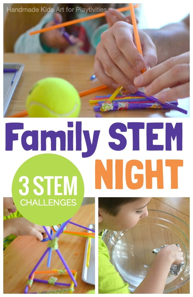 STEM Challenges for Family Game Night