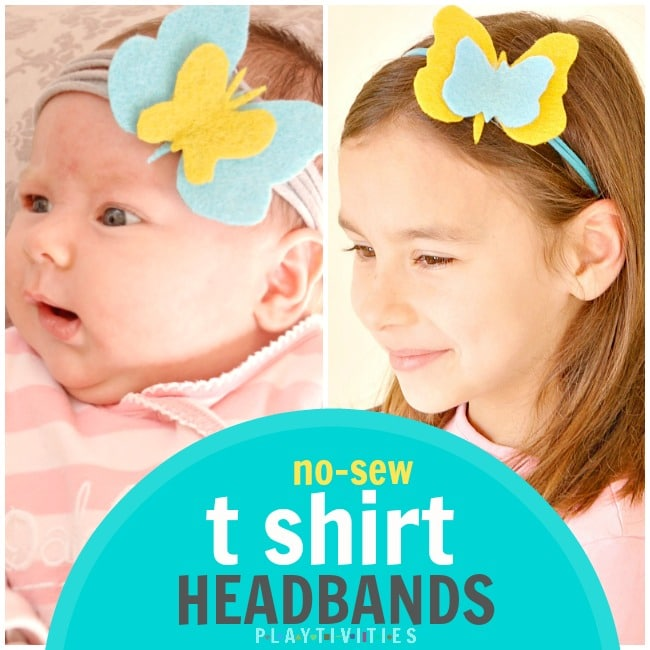 no sew t shirt headbands
