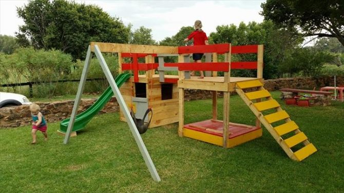 25 Fun Pallet Projects Your Kids Will Appreciate