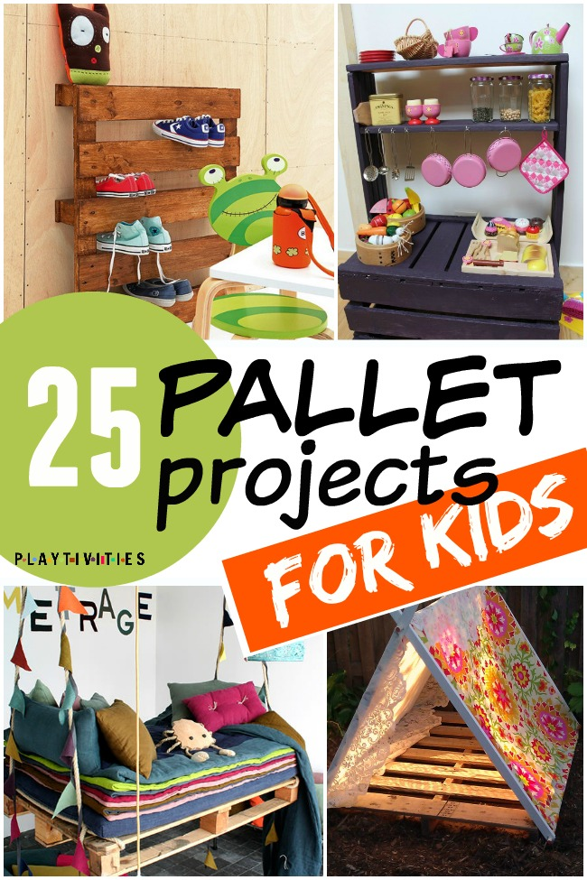 Prime 25 Fun Pallet Projects Your Kids Will Appreciate Playtivities Gmtry Best Dining Table And Chair Ideas Images Gmtryco