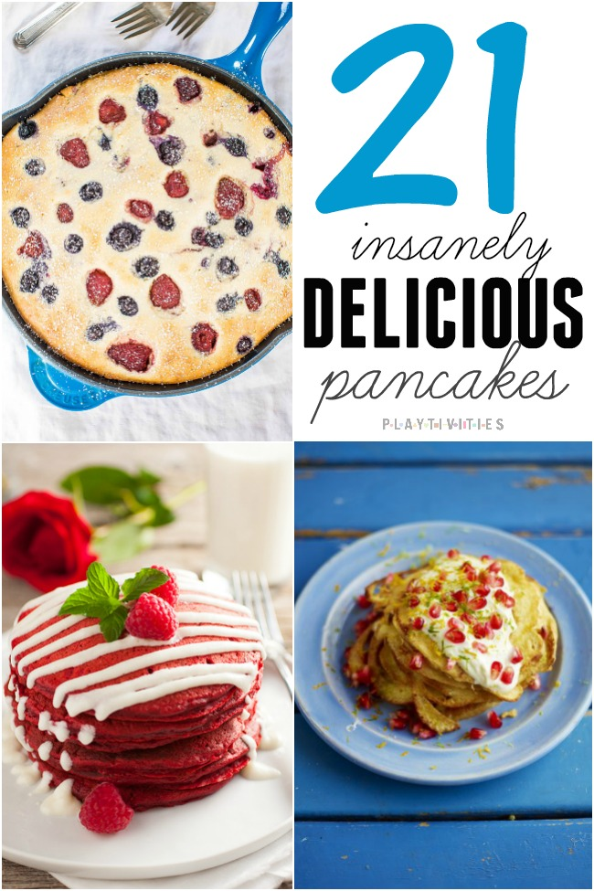 21 Pancake Recipes You Will Want To Make Right Now