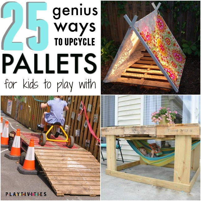 more backyard ideas for kids projects with pallets