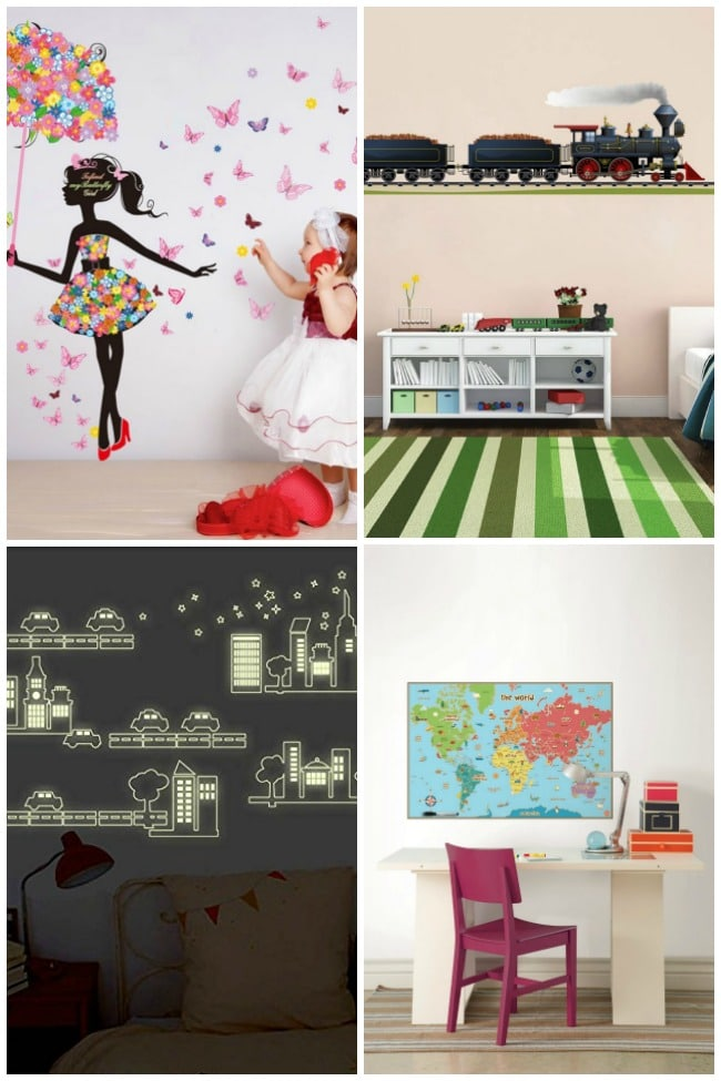 Decorate Your Childs Room With Wall Stickers Playtivities