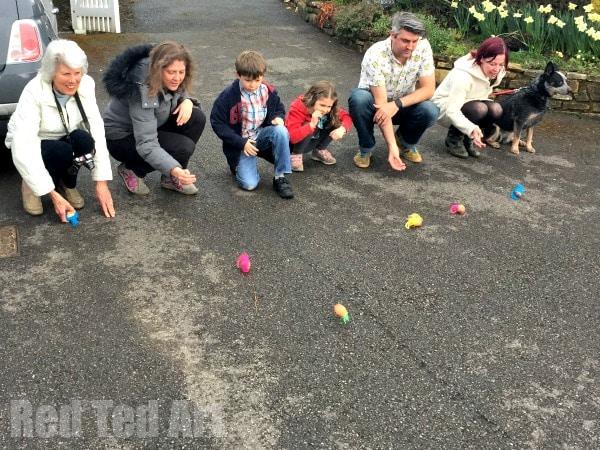 Fancy egg roll game