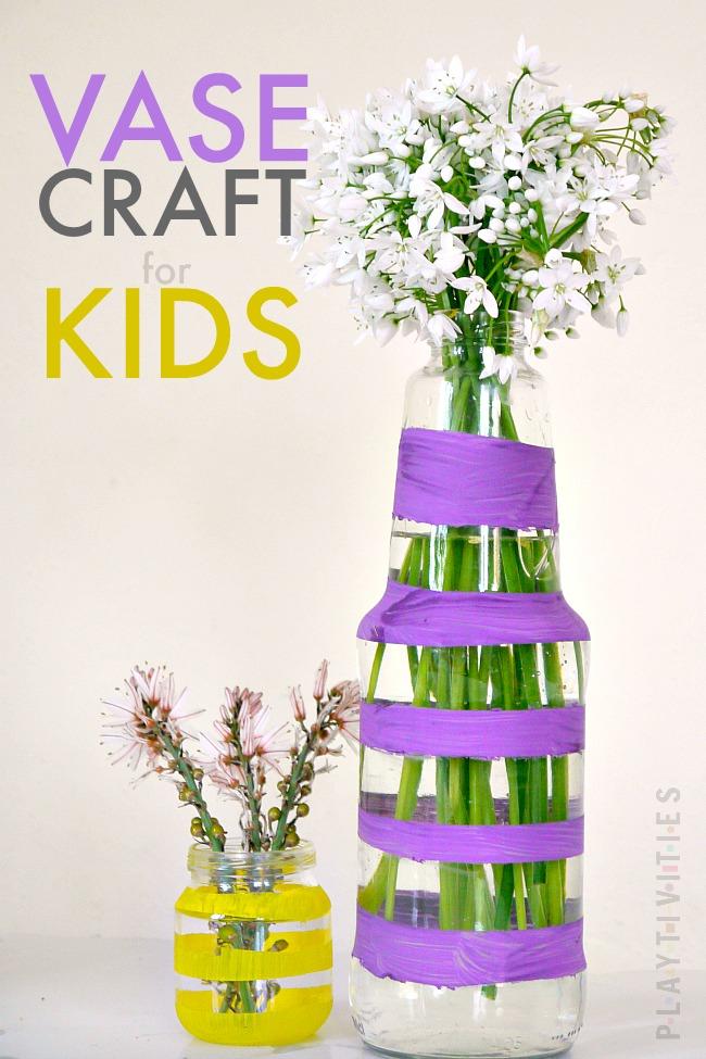vase craft for kids