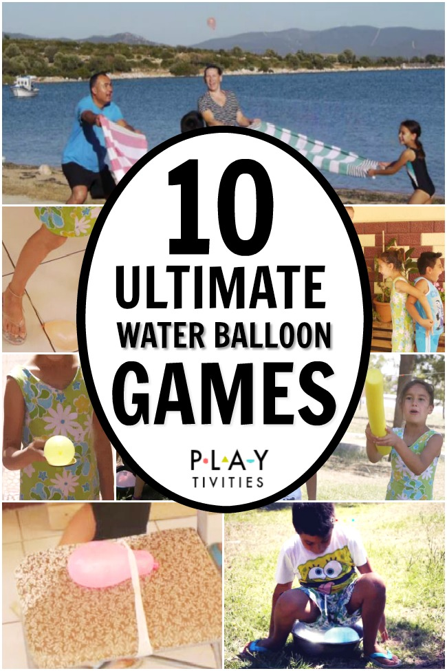 Ultimate Water Balloon Games  PART 1 - PLAYTIVITIES