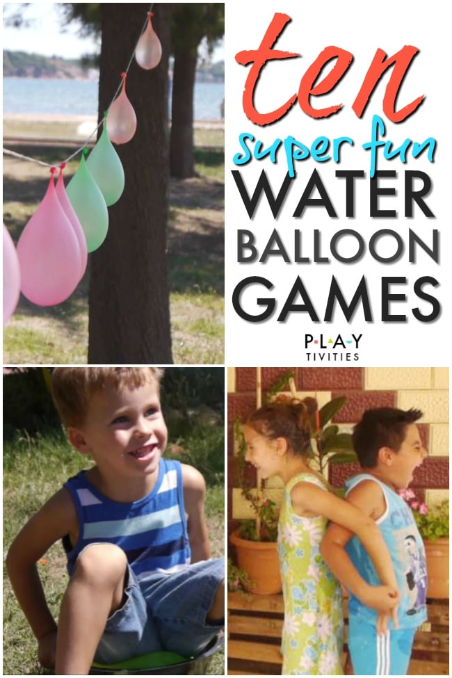 Water Balloon Games Part 2 Playtivities