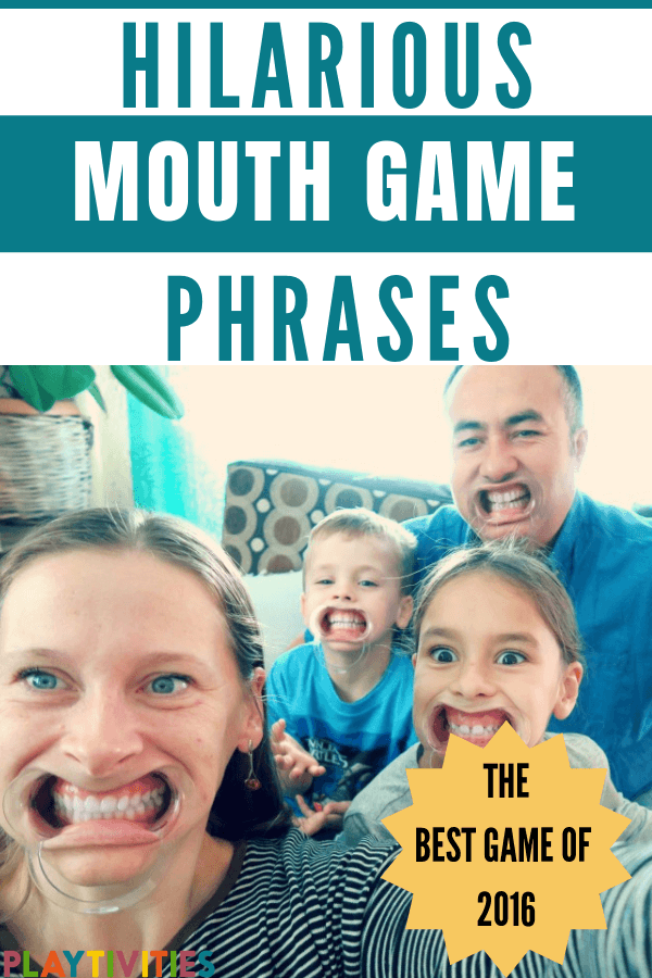 Mouth game phrases