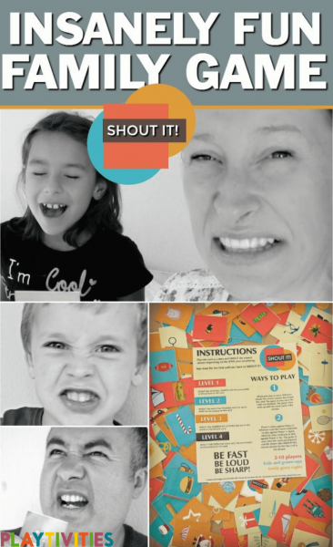Family game Shout it!