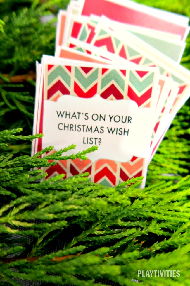 50 Christmas Dinner Conversation Starters. Free Printable Cards