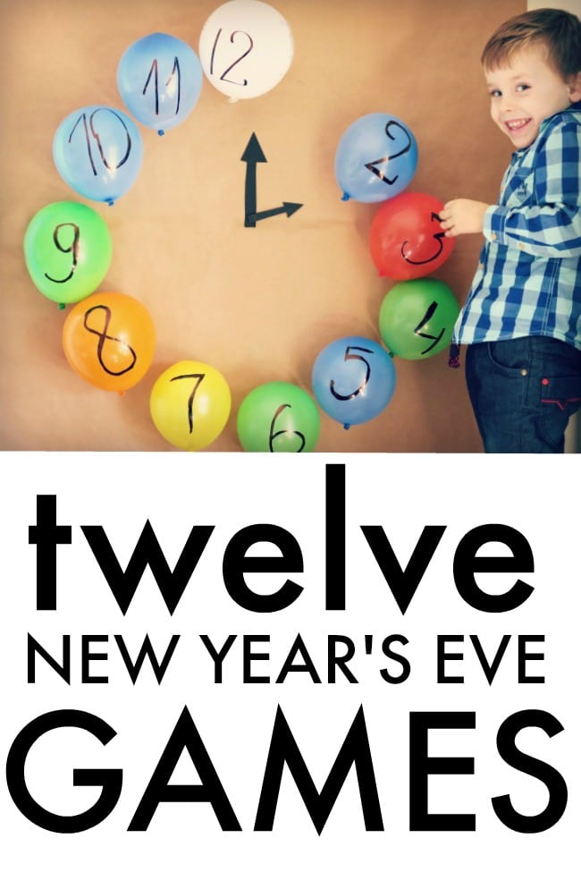 12 New Year's Eve Family Games