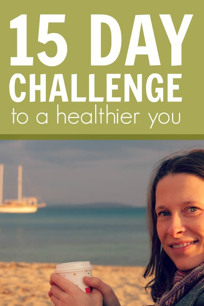 15 Days To A Healthier You