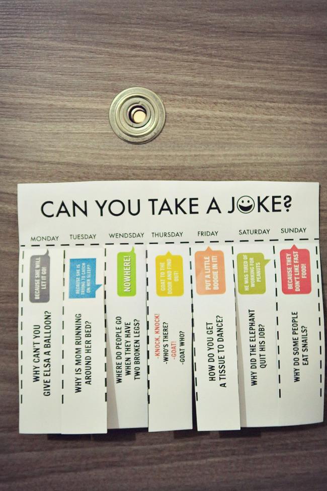 CAN YOU TAKE A JOKE P