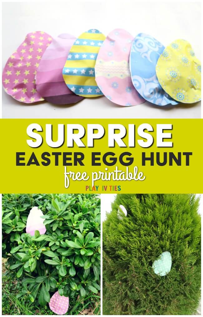 DIY surprise easter eggs