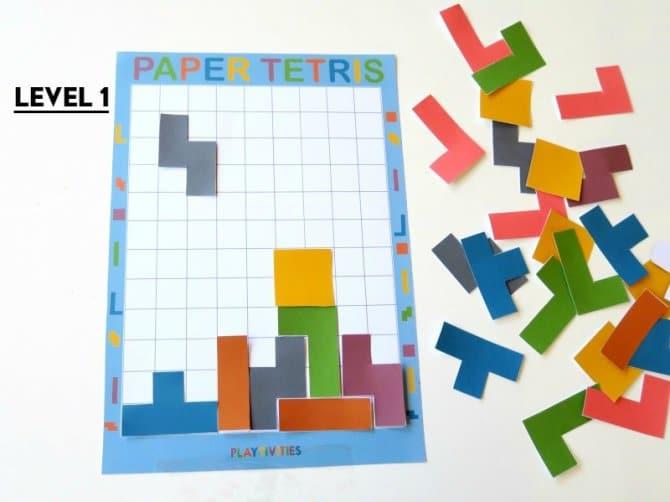 diy paper tetris 2