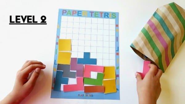 diy paper tetris 3