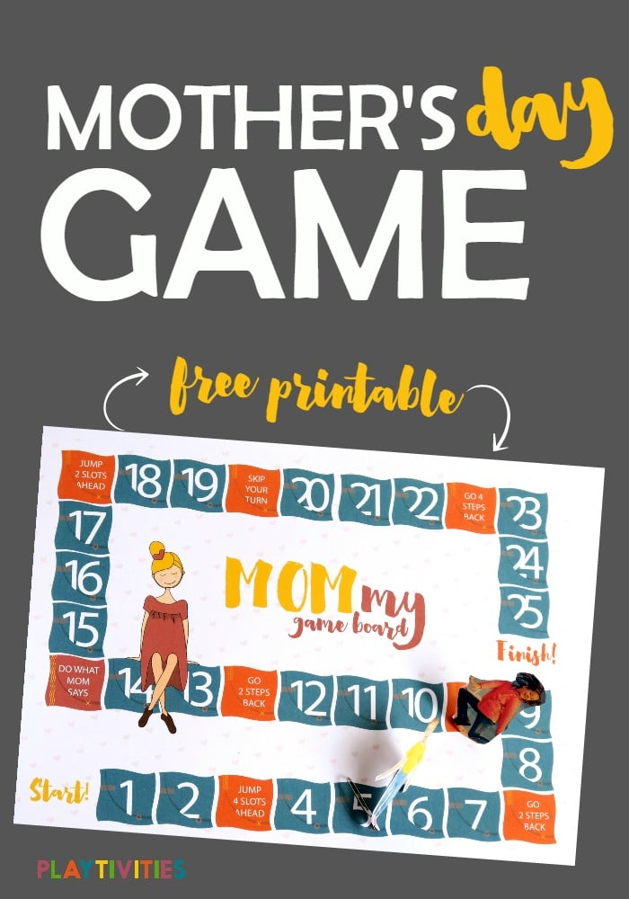 Mommy Game Board A Dream Come True For Your Mothers Day