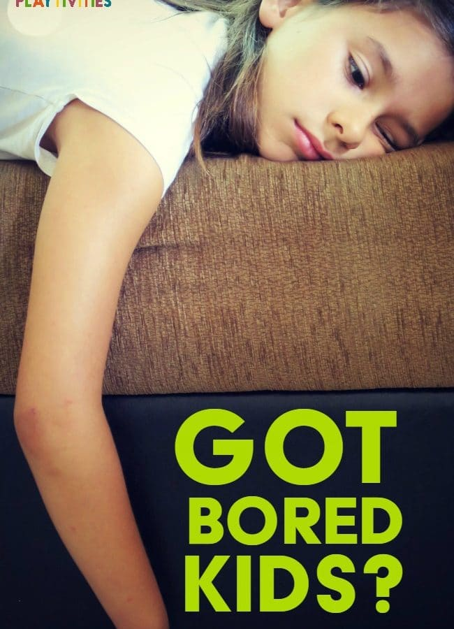 What To Do When Kids Are Bored. My secret 5 step system that works every time