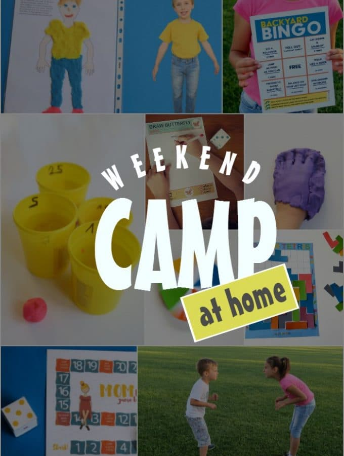 10 never seen before boredom busters for kids. Weekend Activity Camp At Home.