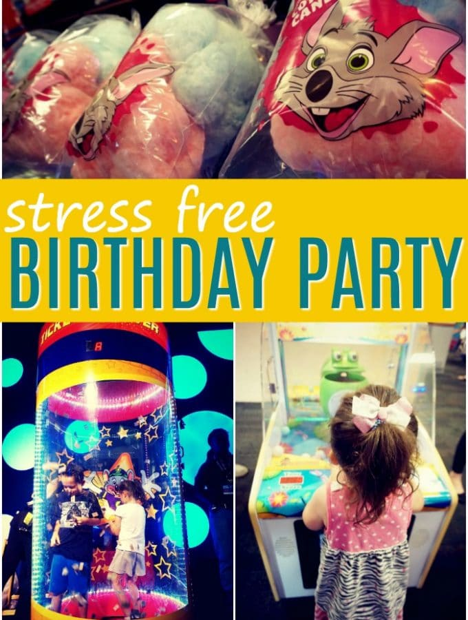 Fun No-Prep Birthday Party Idea