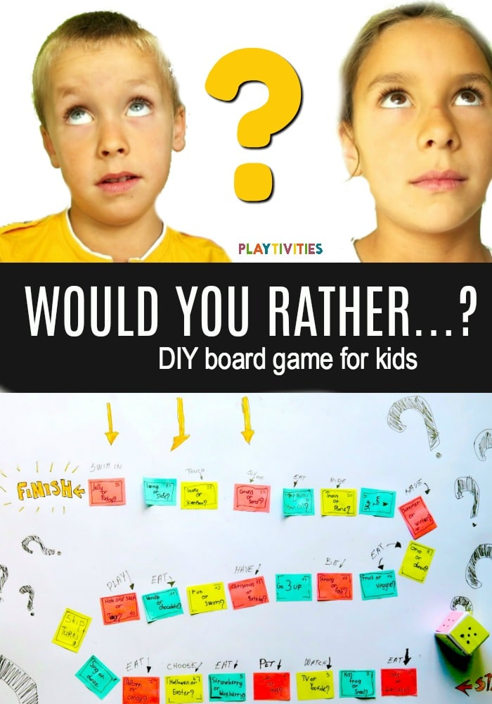 Would You Ever Visit A Card Teller If: Would You Rather? DIY Board Game