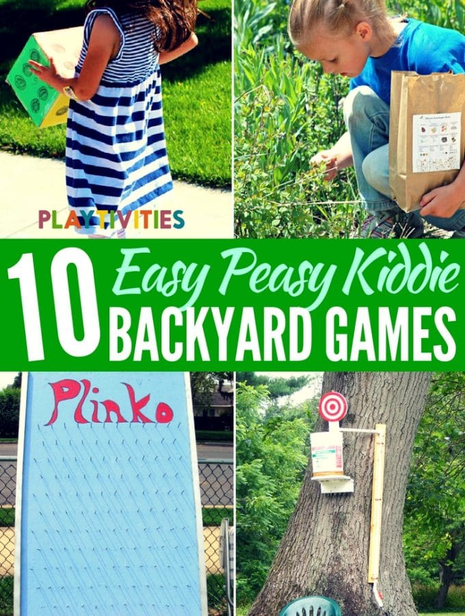 10 Absolutely Coolest Backyard Games for Kids