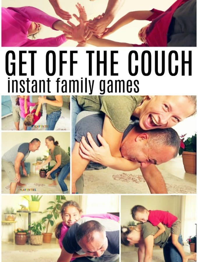 5 Get Off The Couch Family Games To Play In The Living Room