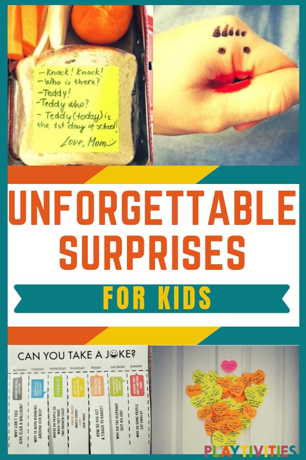 Surprises for kids