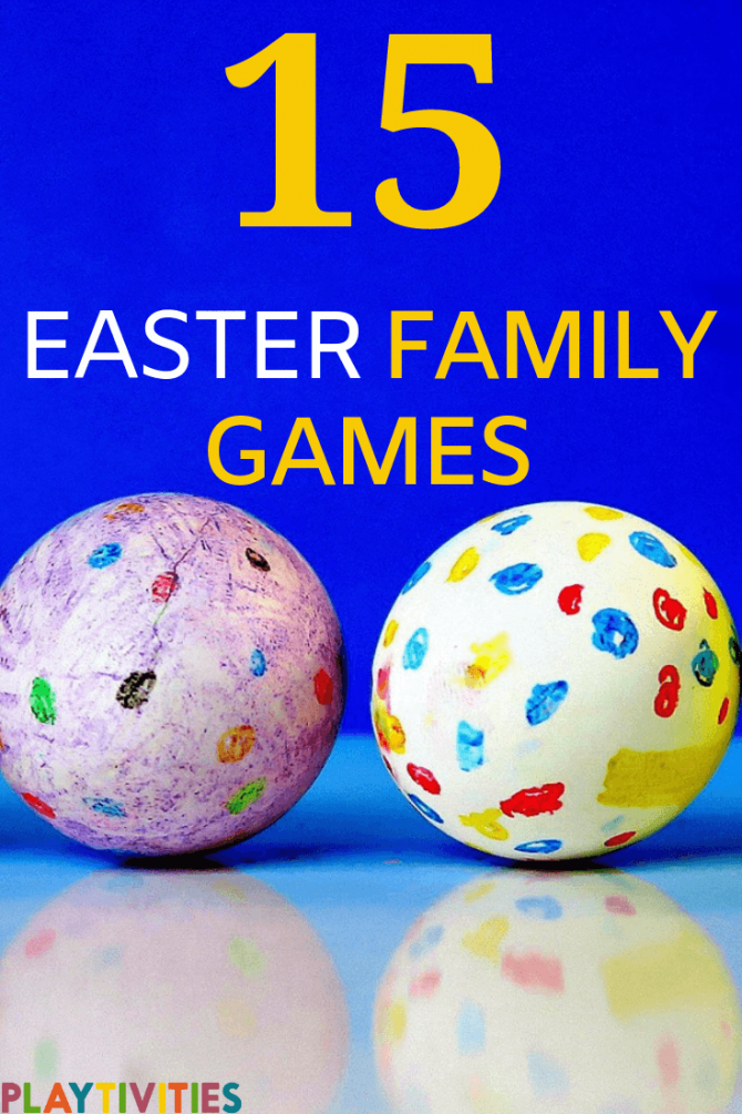 family easter games to bond