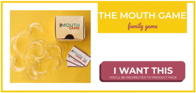 Funny dental mouth game