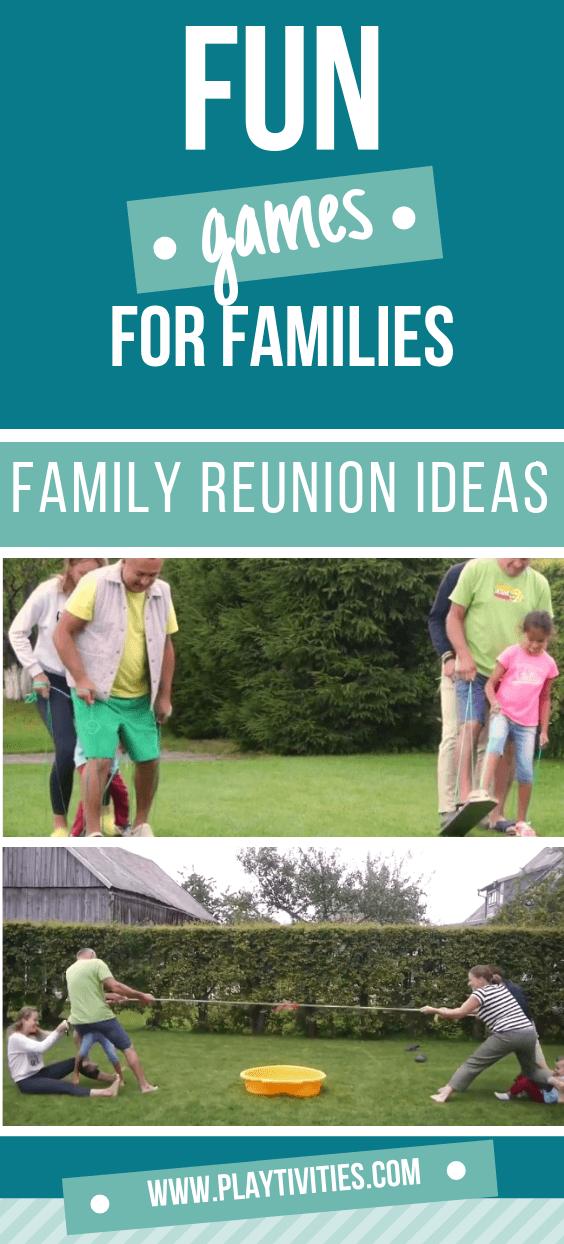 Fun Family Reunion games