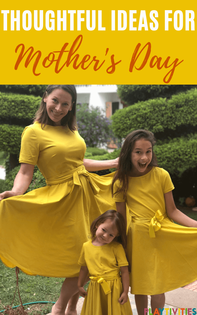 thoughtful ideas for mother's day