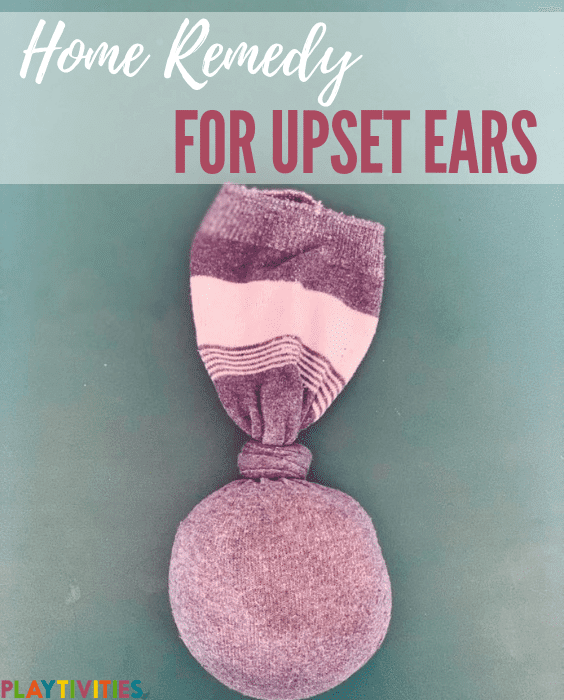 home remedy for upset ears